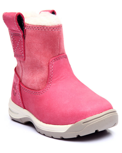 Timberland - Girls Pink Timber Tykes Pull-On Boots