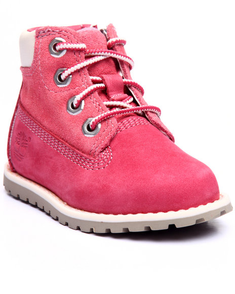 Timberland - Girls Pink Pokey Pine 6
