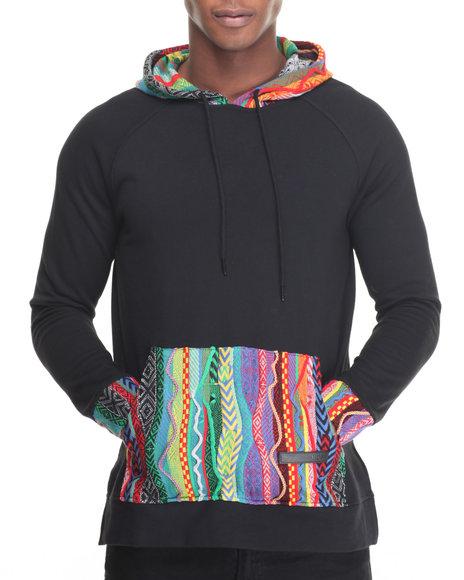 Hudson Nyc - Men Black Colors Pullover Hoodie