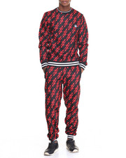 Men - Streetz Iz Watching A K - 47 Fleece Set