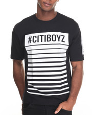 Men - Citi Boyz Bar$ High - Density Printed S/S Tee