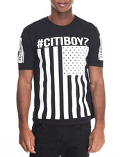 Men - Citi Boyz Flaggin High - Density Printed S/S Tee