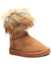Girls - TOP FAUX FUR TRIM BOOTIES (11-4)