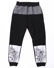 Bottoms - CUT & SEW ELEPHANT PRINT JOGGERS (8-20)