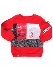 Akademiks - CUT & SEW GO HARD SWEATSHIRT (INFANT)