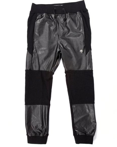 Lrg - Boys Black Elevated Pants (8-20)
