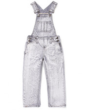 Bottoms - ACID WASH OVERALLS (4-7)