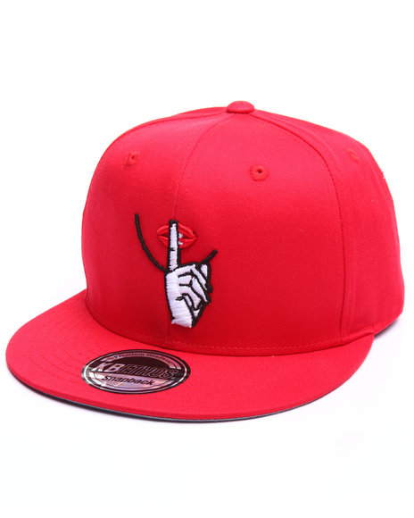 Move In Silence Men Silence Hat Red
