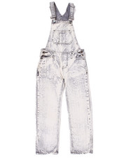 Bottoms - ACID WASH OVERALLS (8-20)