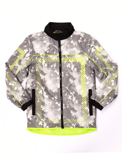 Lrg - Boys Black Cloudy Track Jacket (8-20)