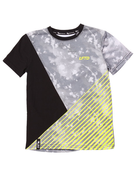 Lrg - Boys Black Head In The Clouds Top (8-20)