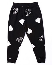 Sweatpants - DIAMOND PRINT JOGGER (4-7)