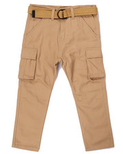 Arcade Styles - TAPERED LEG TWILL CARGO PANTS (4-7)