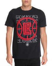 Men - Los Angeles Clippers Herringbone S/S Tee