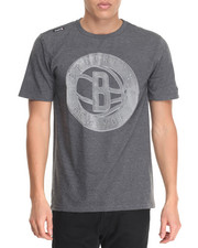Men - Brooklyn Nets Brushed s/s tee