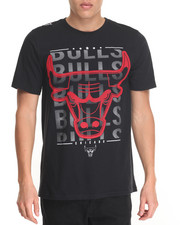 NBA, MLB, NFL Gear - Chicago Bulls Herringbone S/S Tee