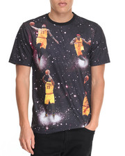 NBA, MLB, NFL Gear - Lebron James Space Invader Sublimated S/S Tee