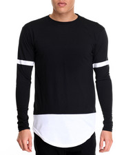 Buyers Picks - L/S Color Block Tee