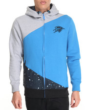 Men - Oklahoma Thunder Space Invade Fleece Hoodie