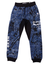 Akademiks - BLUEPRINT ALLOVER PRINT JOGGERS (8-20)