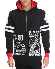 Hoodies - Racing Elongated Hoody