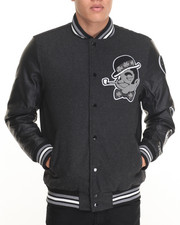NBA, MLB, NFL Gear - Boston Celtics Scorch Wool Varsity Jacket