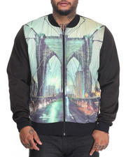 Track Jackets - Brooklyn Bridge Sublimated Lightweight Track Jacket