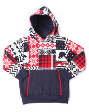 Hoodies - ARKTIK FLEECE PULLOVER HOODY (4-7)