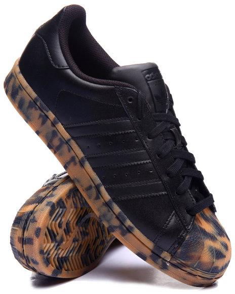 Adidas - Men Black Superstar Tortoise Lo