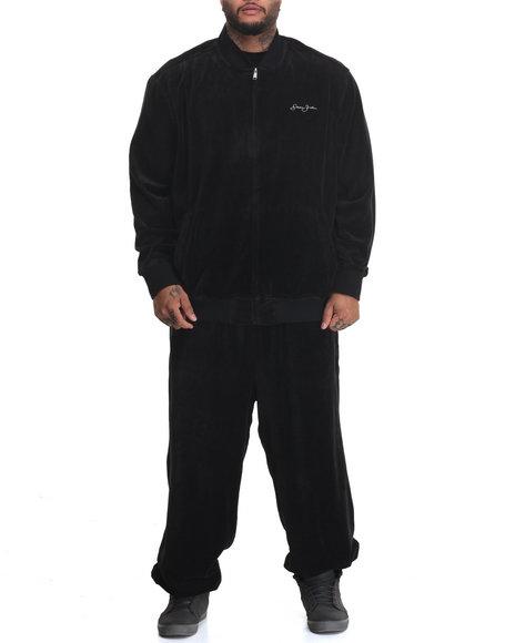 Sean John - Men Black S J Limited Edition Velour Set (B&T)
