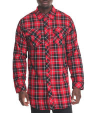Shirts - Lumber Jack Plaid Shirt w Side Zipper