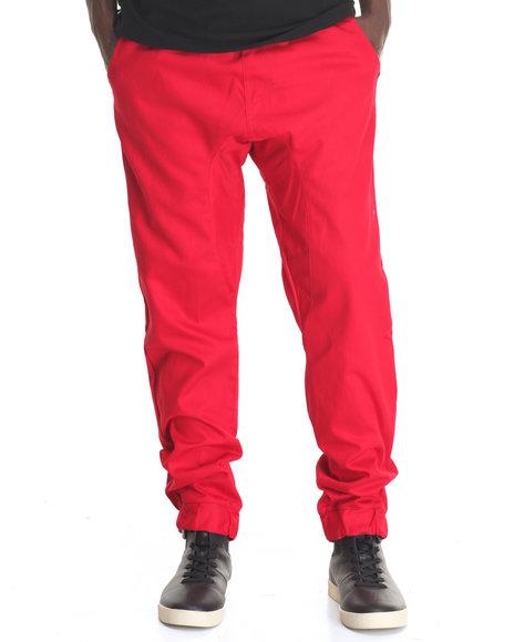 Akademiks - Men Red Nollie Jogger Pant - $36.99