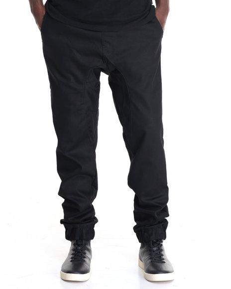 Akademiks - Men Black Nollie Jogger Pant