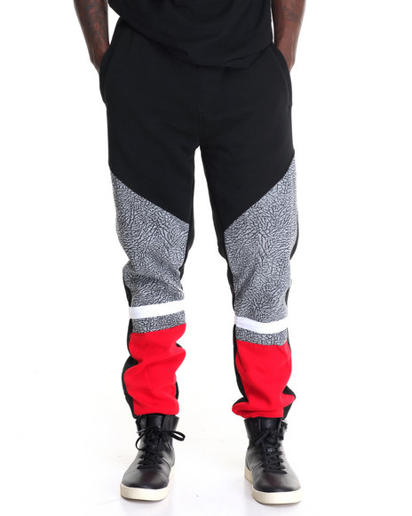 Buyers Picks - Men Red Racing Sweatpants