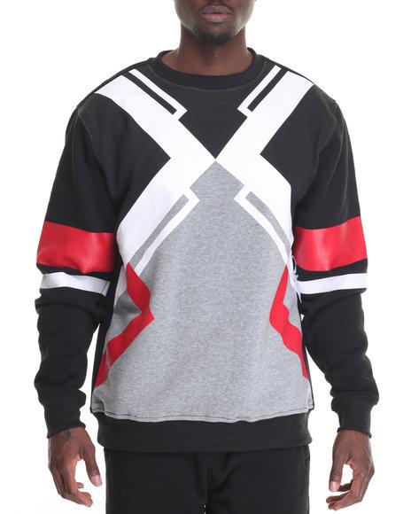 Buyers Picks - Men Red Abstract Sweatshirt