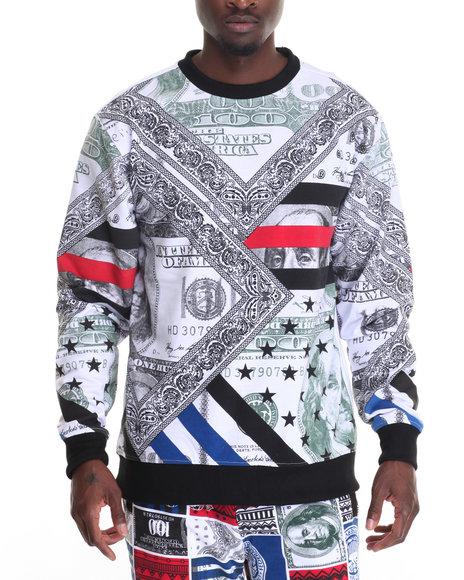 Buyers Picks - Men Black Making Money Sweatshirt