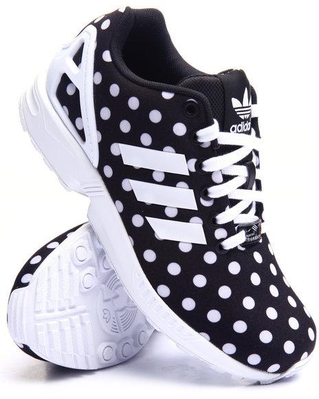 Adidas - Women Black Zx Flux Dots W Sneakers - $84.99