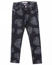 La Galleria - CHEETAH HEART JEANS (7-16)