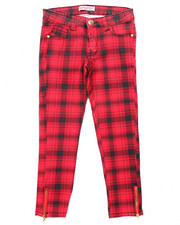 La Galleria - PLAID PANTS (7-16)