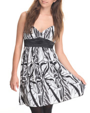Dresses - Abstract Printed Dress