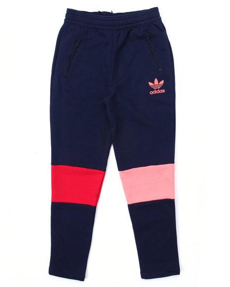 Adidas Girls Moscow Fleece Pants (716) Navy Large