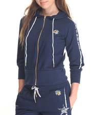 Hoodies - Stars & Stripes Zip Front Hoody