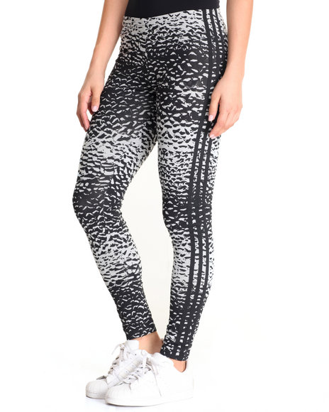 Adidas - Women Grey Helsinki Ice Print Leggings