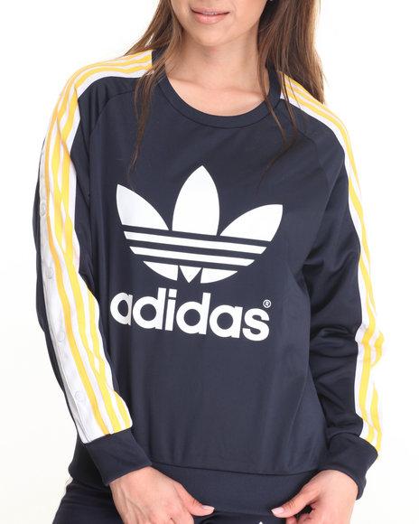 Adidas - Women Navy Cosmic Confessions Sweatshirt