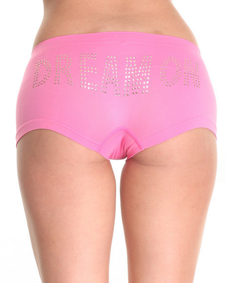Drj Lingerie Shoppe - Women Pink Dream On/ Graffiti 3Pk Seamless Shorts