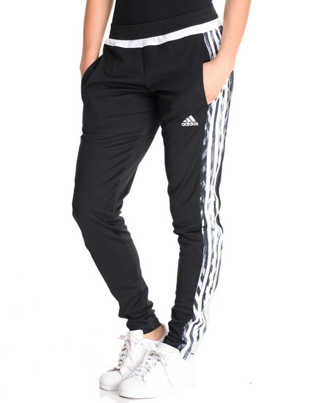 Adidas - Women Black Tiro 15+ Pants
