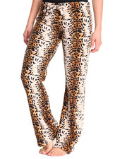Intimates & Sleepwear - Leopard Print Plush Pants