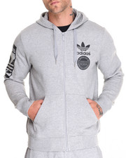 Men - Street Graphic Full Zip Hoodie