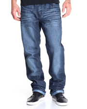 Jeans & Pants - Granite - Wash Basic Coated Denim Jeans
