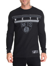 Thermals - Brooklyn Nets Midtown L/S Thermal shirt